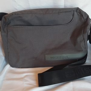 2/$20 Vintage Diesel messenger bag grey